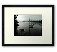 Sailors Return Framed Print