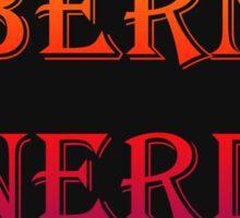 Bern Nerd / Colored Sticker