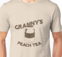 Granny's Peach Tea Brown Unisex T-Shirt