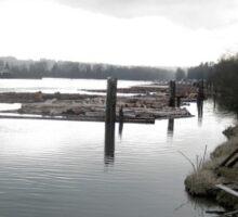 Fraser River, Port Coquitlam Sticker