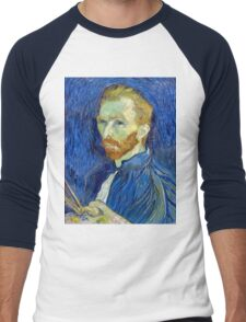 Vincent van Gogh Self-Portrait Men's Baseball ¾ T-Shirt
