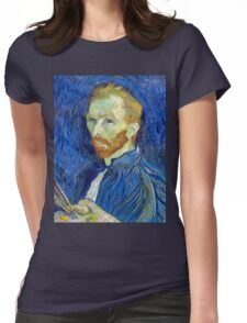 Vincent van Gogh Self-Portrait Womens Fitted T-Shirt