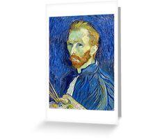 Vincent van Gogh Self-Portrait Greeting Card