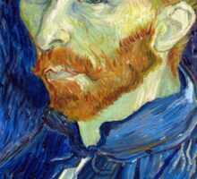 Vincent van Gogh Self-Portrait Sticker