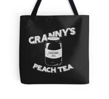Granny's Peach Tea White Tote Bag