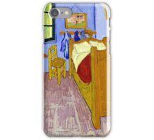 Vincent van Gogh Bedroom in Arles iPhone Case/Skin