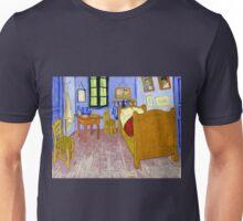 Vincent van Gogh Bedroom in Arles Unisex T-Shirt