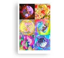 Mane 6 Duality Series Canvas Print