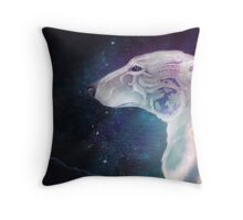 Winter King Throw Pillow