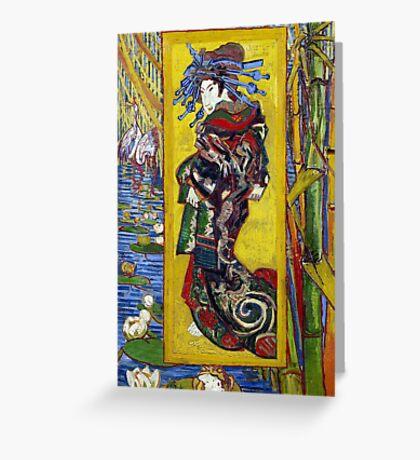 Vincent van Gogh Courtesan Greeting Card