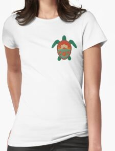 Honolulu Turtle Womens Fitted T-Shirt
