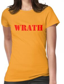 WRATH Womens Fitted T-Shirt