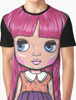 Pink Blythe Doll Graphic T-Shirt