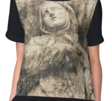 Saint of Siena Chiffon Top