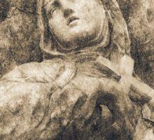 Saint of Siena Sticker