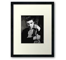 elvis guitar Framed Print