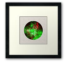 Neon World Framed Print