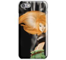 Kim the Secret Agent iPhone Case/Skin