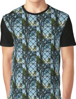 The Garden Through Window Diamonds Graphic T-Shirt