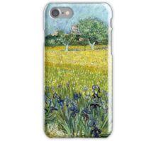 Vincent van Gogh Field of Flowers near Arles iPhone Case/Skin