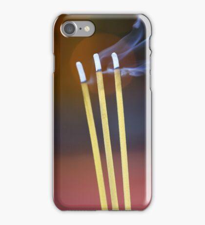 Cambodian Incense iPhone Case/Skin