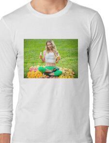 Freelee The Banana Girl Long Sleeve T-Shirt