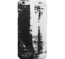 graffiti - black and white iPhone Case/Skin