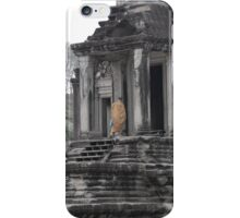 Cambodian Monk iPhone Case/Skin