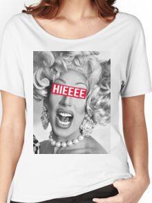 hieeee Women's Relaxed Fit T-Shirt