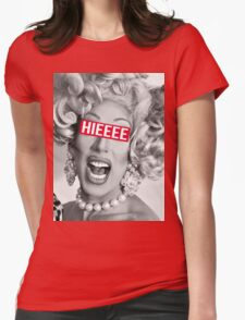 hieeee Womens Fitted T-Shirt