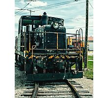 Vintage 8537 Army Train Photographic Print