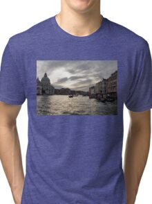Venice, Italy - Pearly Skies on the Grand Canal Tri-blend T-Shirt