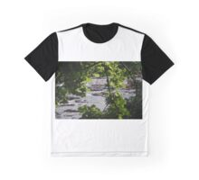 river through the trees Graphic T-Shirt