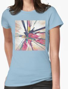 Abstract Geometry Womens Fitted T-Shirt