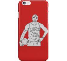LeBron James Sketch  iPhone Case/Skin