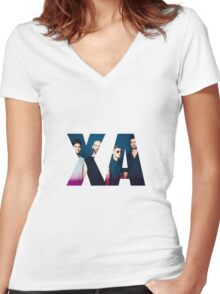 X Ambassadors Band Women's Fitted V-Neck T-Shirt