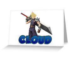 Cloud SSB4 Greeting Card