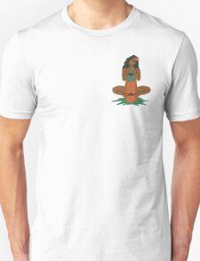 Hawaiian Hula Girl Skater Unisex T-Shirt
