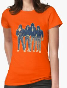 RAMONES ZOMBIES Womens Fitted T-Shirt