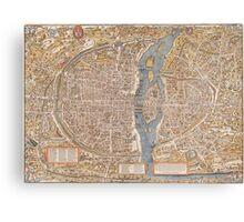Original Paris: Around the world.. Wanderlust! Canvas Print