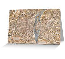 Original Paris: Around the world.. Wanderlust! Greeting Card