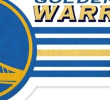 Retro Golden State Warriors Logo Sticker