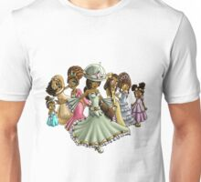 7 Princesses Unisex T-Shirt
