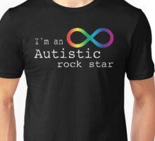 Autistic Rock Star Unisex T-Shirt