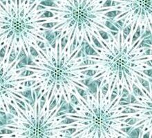 Electrified Snowballs Pattern Sticker