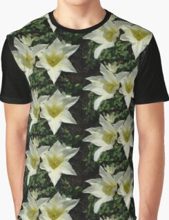 Two pretty white tulip flowers. Graphic T-Shirt