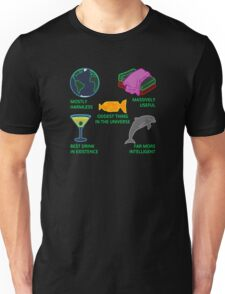 Mostly Harmless, Massively Useful Unisex T-Shirt