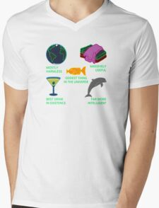 Mostly Harmless, Massively Useful Mens V-Neck T-Shirt