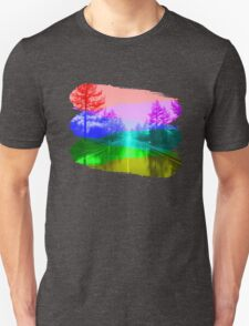 Rainbow Road Unisex T-Shirt