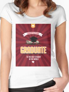 Congratulations graduate Women's Fitted Scoop T-Shirt